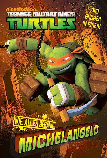TV-Comic-Nickelodeon: Teenage Mutant Ninja Turtles Band 2 WIE-ALLES-BEGANN: Michelangelo/Raphael - Das Cover