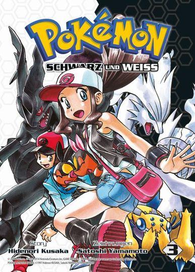 Pokémon SCHWARZ und WEISS 3 - Das Cover