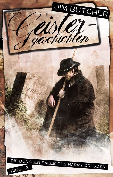 Geistergeschichten: Die dunklen Fälle des Harry Dresden 13 - Das Cover