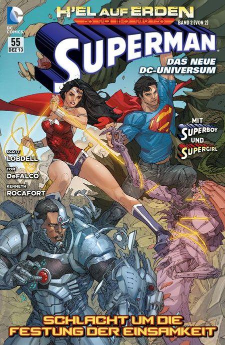Superman Sonderband 55: H´EL auf Erden Band 2 (von 2): Schlacht um die Festung der Einsamkeit - Das Cover