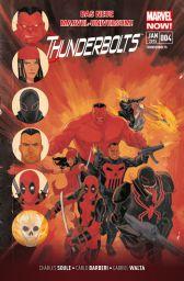 Thunderbolts 4: Die durch die Hölle gehen! - Das Cover