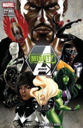 Mighty Avengers 2: Kein Held allein - Das Cover