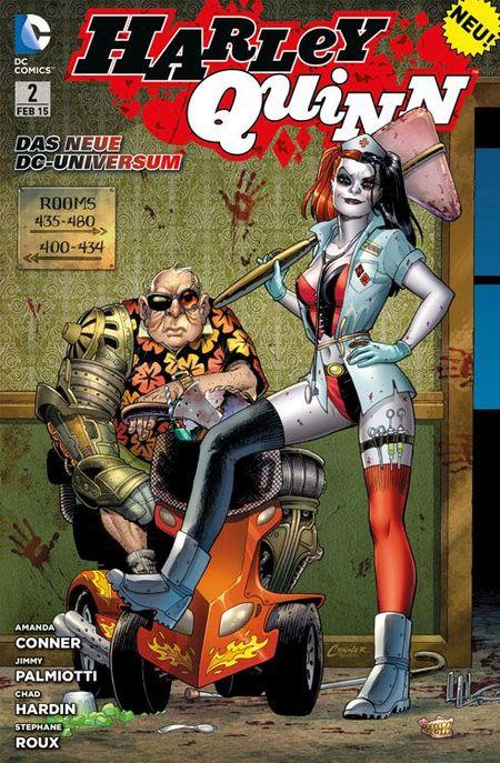 Harley Quinn 2: Harte Therapie - Das Cover