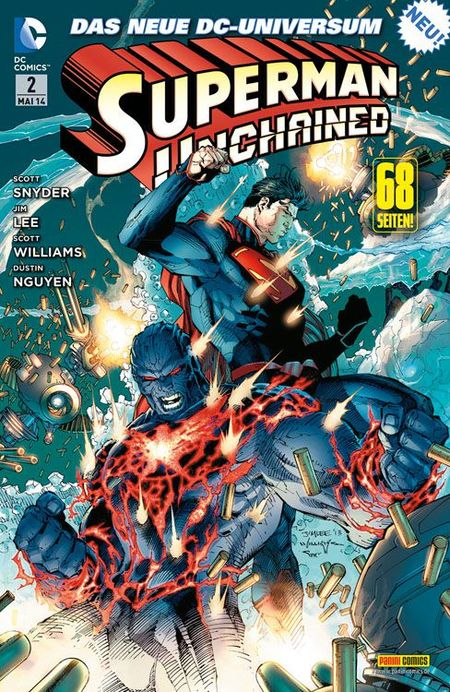 Superman: Unchained 2 - Das Cover