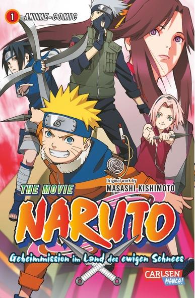 The Movie 1: Naruto-Geheimmission im Land des ewigen Schnees - Das Cover