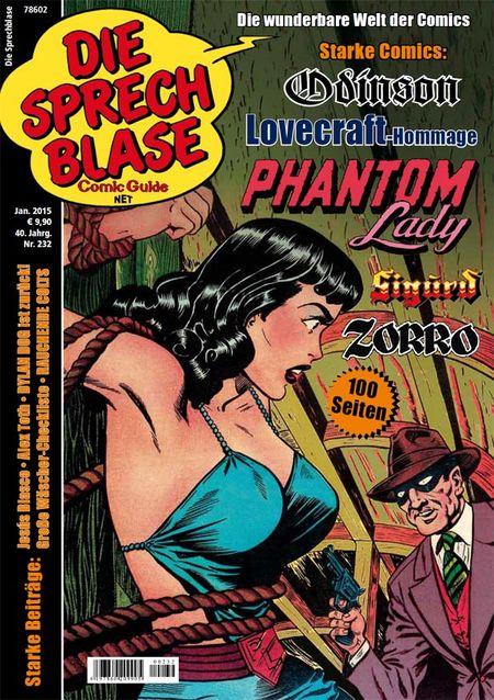 Die Sprechblase 232 - Das Cover