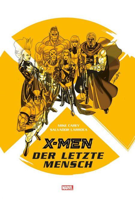 X-Men: Der letzte Mensch - Das Cover