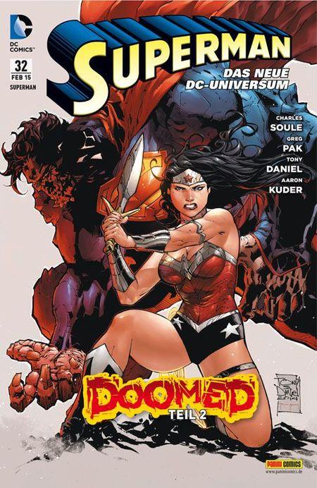 Superman 32 - Das Cover
