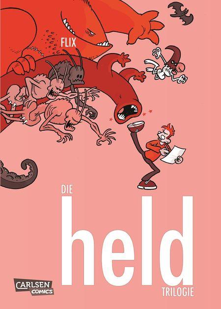 Flix: Die Held-Trilogie - Das Cover