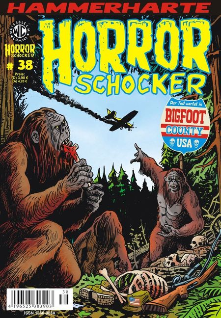 Horrorschocker 38 - Das Cover