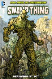 Swamp Thing 5: Der König ist tot - Das Cover