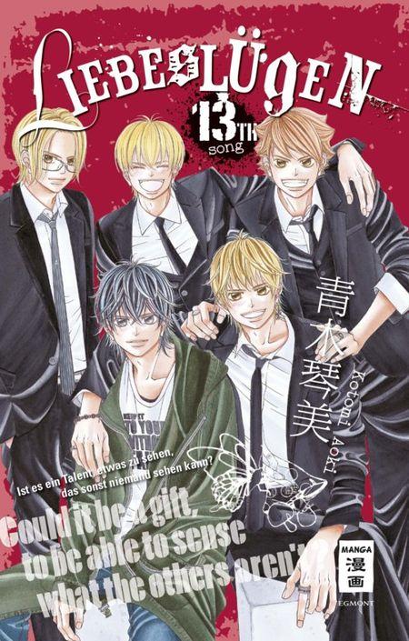 Liebeslügen 13 - Das Cover