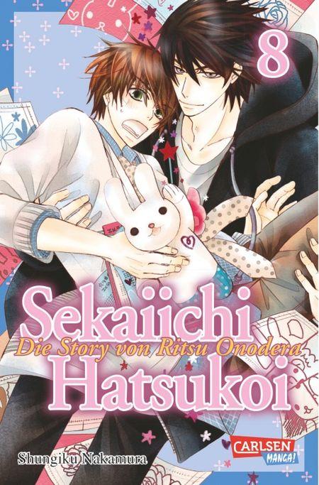 Sekaiichi Hatsukoi 8 - Das Cover