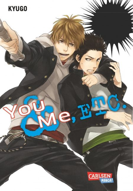 You, me & etc. - Das Cover
