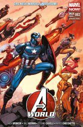 Avengers World 2: Der Aufstieg - Das Cover