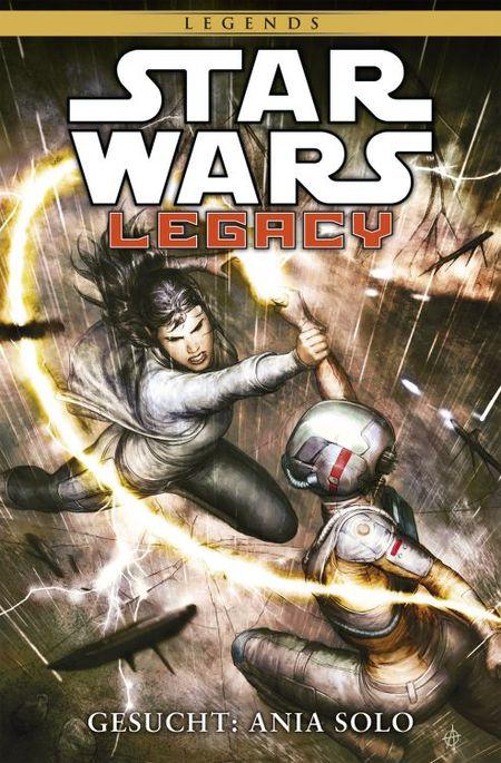 Star Wars Sonderband 84 – Legacy II 3: Gesucht: Ania Solo - Das Cover
