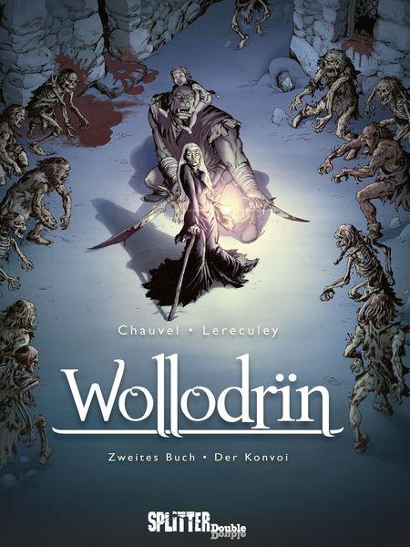 Wollodrin 2: Der Konvoi - Das Cover