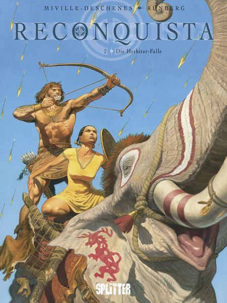 Reconquista 2: Die Hethiter-Falle - Das Cover