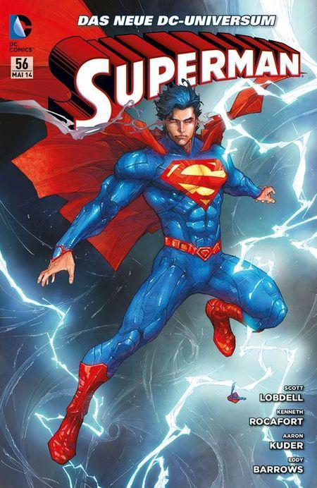 Superman Sonderband 56: Gedankenspiele - Das Cover