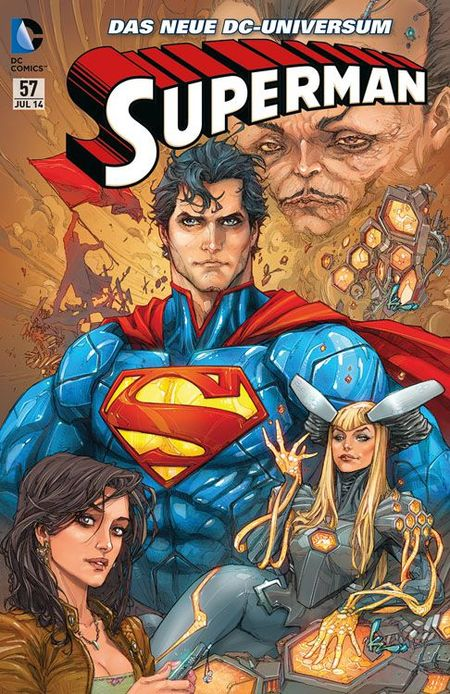 Superman Sonderband 57: PSI WAR - Das Cover