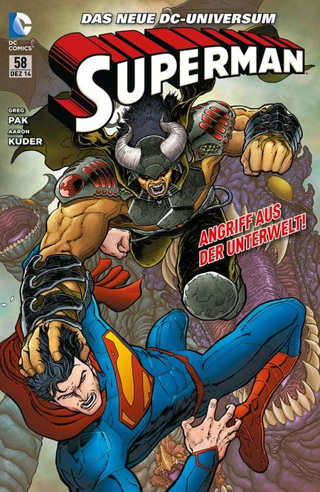 Superman Sonderband 58: Monsterjäger - Das Cover