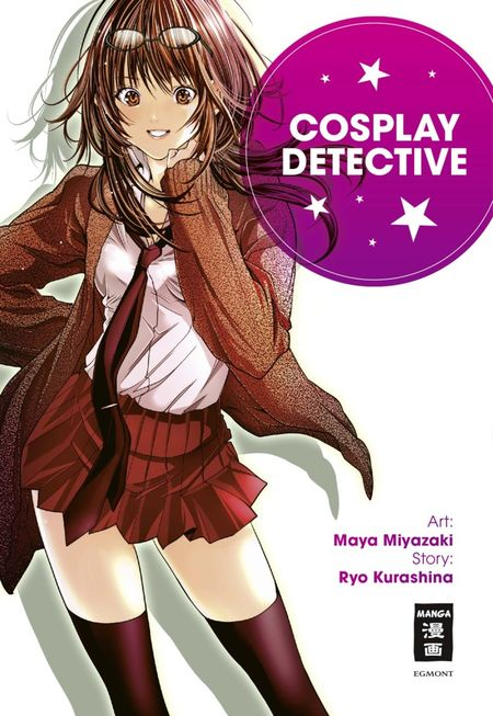 Cosplay Detective - Das Cover