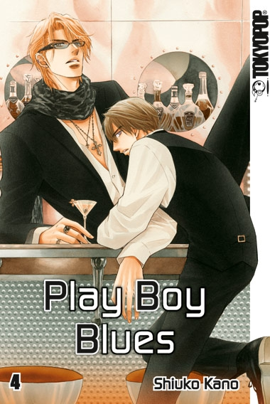 Play Boy Blues 4 - Das Cover