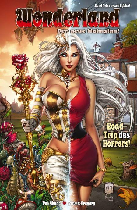Wonderland - Der neue Wahnsinn 3: Road-Trip des Horrors! - Das Cover