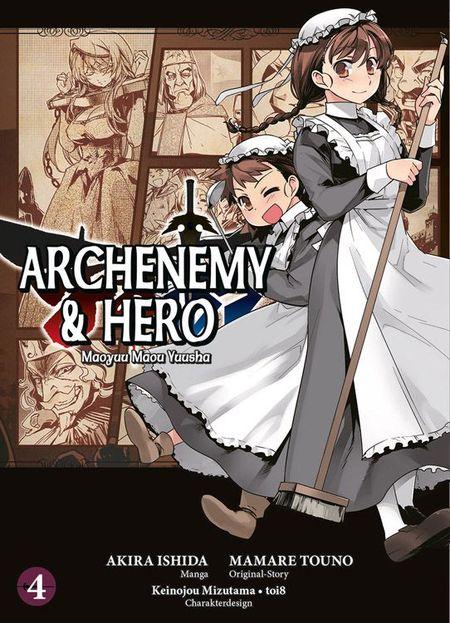 Archenemy & Hero 4 - Das Cover