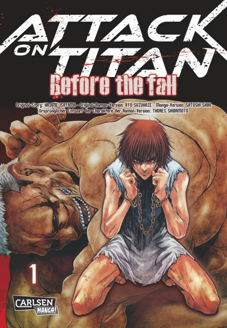 Attack on Titan - Before the Fall 1 - Das Cover