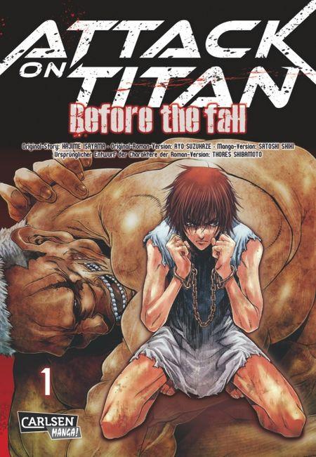 Attack on Titan - Before the Fall 1 - Das Cover