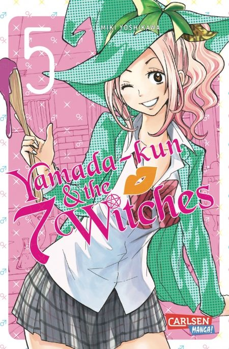 Yamada-kun & the 7 Witches 5 - Das Cover