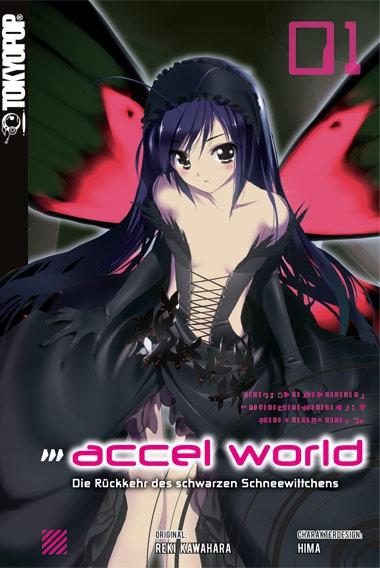 Accel World Novel 1: Die Rückkehr des schwarzen Schneewittchens - Das Cover