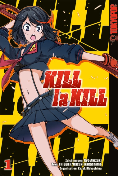 KILL la KILL 1 - Das Cover