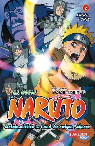 The Movie 2: Naruto-Geheimmission im Land des ewigen Schnees - Das Cover