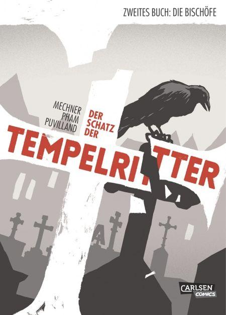 Der Schatz der Tempelritter 2: Die Bischöfe - Das Cover