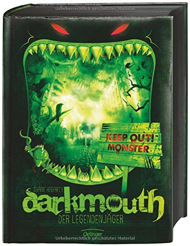 Darkmouth - Der Legendenjäger Band 1 - Das Cover