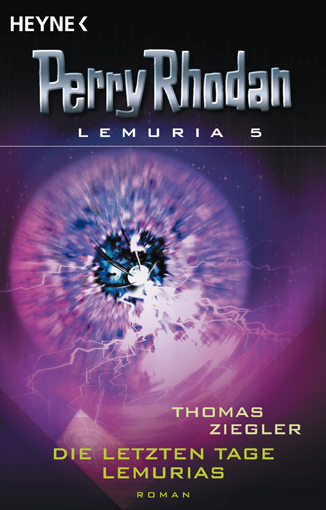 Perry Rhodan Lemuria 5 - Die letzten Tage Lemurias - Das Cover