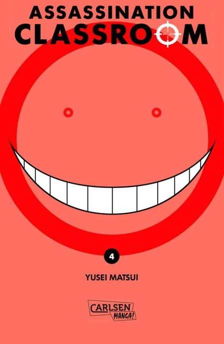 Assassination Classroom 4 - Das Cover