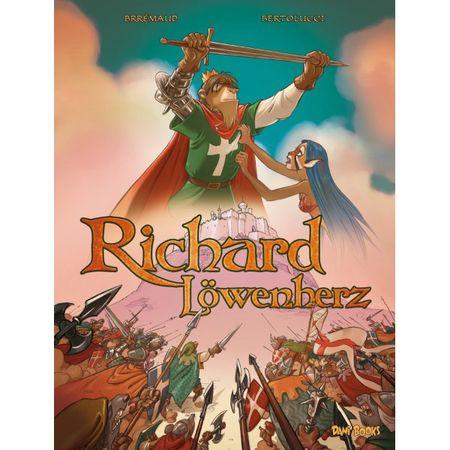 Richard Löwenherz - Das Cover