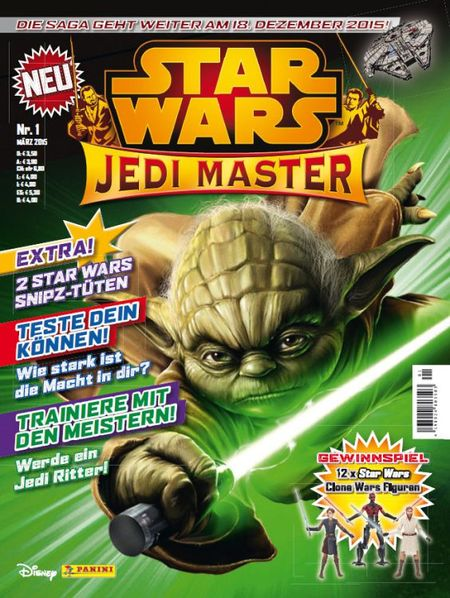Star Wars: Jedi Master 1 - Das Cover