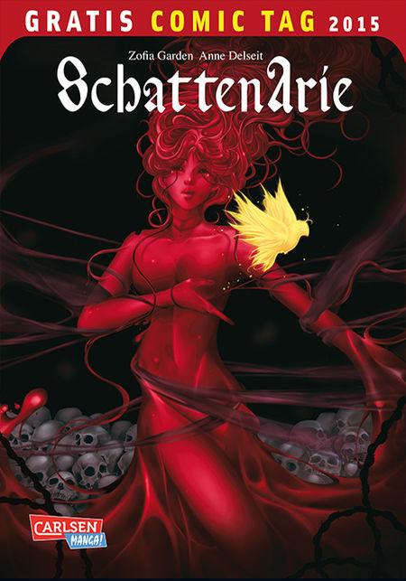 Schattenarie – Gratis Comic Tag 2015 - Das Cover