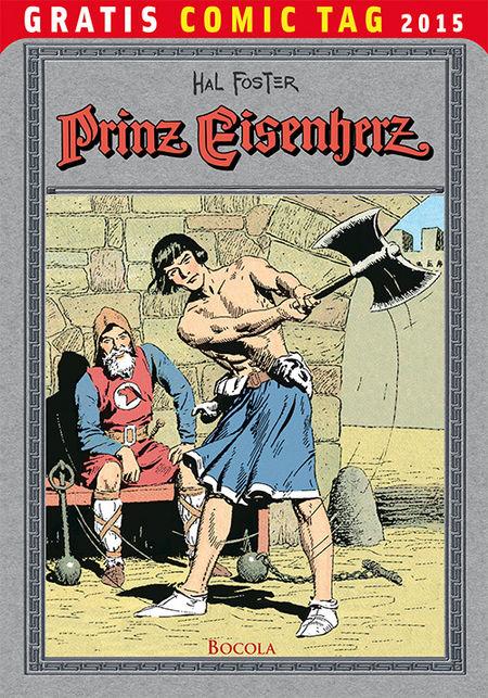 Prinz Eisenherz – Gratis Comic Tag 2015 - Das Cover