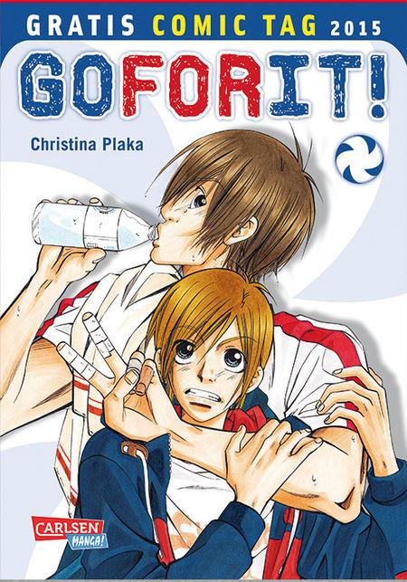 Go For it! – Gratis Comic Tag 2015 - Das Cover