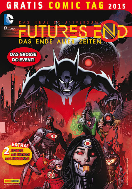 Future's End – Das Ende aller Zeiten – Gratis Comic Tag 2015 - Das Cover
