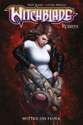 Witchblade Rebirth 5: Mitten ins Feuer - Das Cover