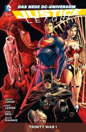 Justice League Paperback 5: Trinity War 1 - Das Cover