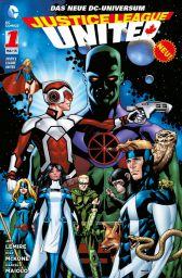 Justice League United 1: Krise auf Rann - Das Cover