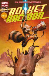 Rocket Raccoon 1: Der letzte seiner Art - Das Cover