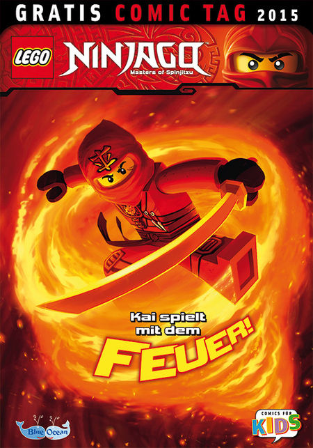 Lego Ninjago - Gratis Comic Tag 2015 - Das Cover